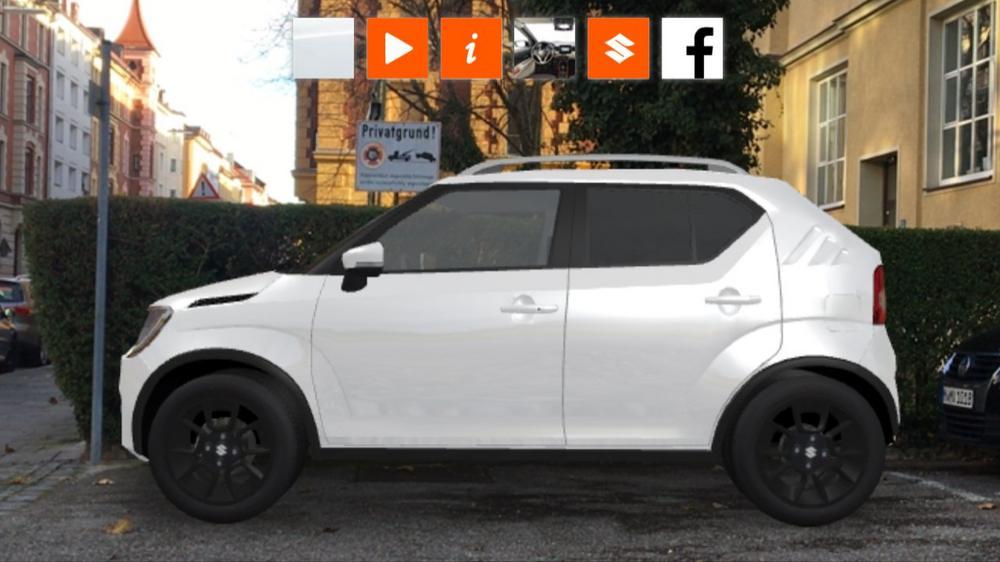 3D Experience Rund Um Den Suzuki Ignis Micro SUV Virtuell Erleben Ganz Ohne App
